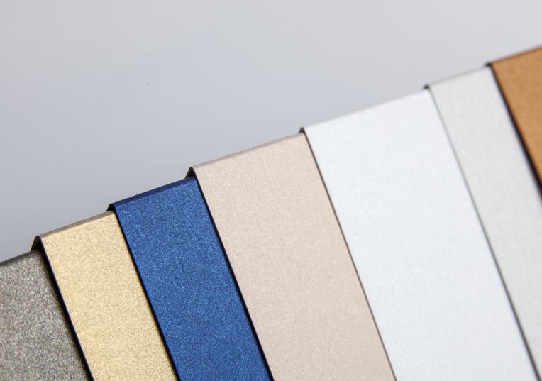 metallics gebürstet | papier direkt, Einladung