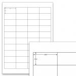 Etiketten Weiss - 48,5 x 25,4 mm