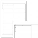 Etiketten Weiss - 97 x 42,3 mm