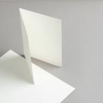 Karten Elfenbein A5 hochdoppelt 250 g/qm