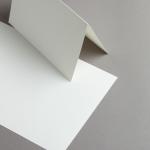 Edelpost Karten A5 hochdoppelt | 100 Stück