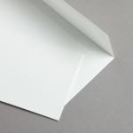 Echt Bütten Couverts Weiss DIN lang | 25 Stück | ohne Futter
