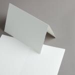 Echt Bütten Karten A5 hochdoppelt Altweiss | 25 Stück