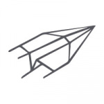 Echt Bütten Couverts Weiss DIN C6 | 25 Stück | mit Futter
