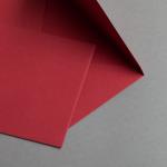 Hochwertige Briefhüllen Karminrot | 25 Stück