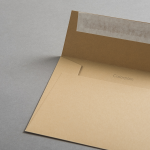 Colorplan Couverts DIN C6 Cappuccino