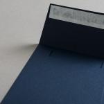 Colorplan Couverts 155x155 mm Dunkelblau