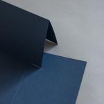 Colorplan Karten 169 x 120 mm hochdoppelt Dunkelblau