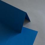 Colorplan Karten 169 x 120 mm hochdoppelt Blau