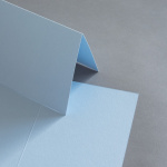 Colorplan Karten 169 x 120 mm hochdoppelt Hellblau
