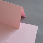Colorplan Karten 169 x 120 mm hochdoppelt Rosa