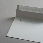 Colorplan Couverts DIN B6 gerade Klappe Grau