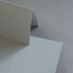 Colorplan Karten 169 x 120 mm hochdoppelt Grau
