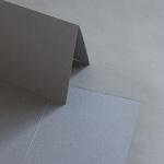 Colorplan Karten 169 x 120 mm hochdoppelt Steingrau