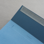Colorplan Couverts DIN C5 Stahlblau