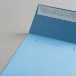 Colorplan Couverts 155x155 mm Stahlblau