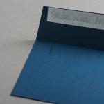 Colorplan Couverts DIN C6 Kobaltblau