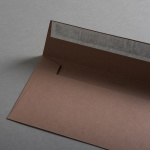 Colorplan Couverts DIN lang Lederbraun