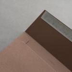 Colorplan Couverts DIN C5 Lederbraun