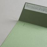 Colorplan Couverts 155x155 mm Olivgrün