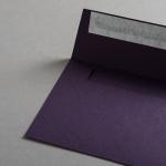 Colorplan Couverts DIN C6 Aubergine