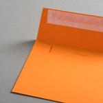 Colorplan Couverts DIN C6 Orange