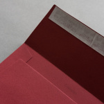 Colorplan Couverts DIN C5 Dunkelrot