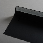 Colorplan Couverts DIN lang Schwarz