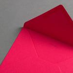 Colorplan Couverts DIN B6 spitze Klappe Flamingopink