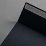 Colorplan Couverts 155x155 mm Schiefergrau