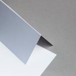 Sirio Pearl Karten DIN lang hochdoppelt Ice White