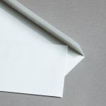 Munken Couverts C6/5 Polar weiß ohne Fenster 100 g/m²