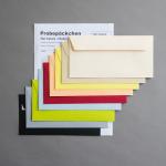 Hot Colors farbige Couverts Probepäckchen