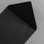 Schwarze Couverts