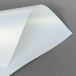 Metallics schimmernd 160 g DIN A3 | Weiss mit Goldschimmer