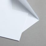 MAYSPIES Premium Couverts mit Futter nassklebend DIN C6 | 100 Stück