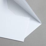 MAYSPIES Premium Couverts mit Futter nassklebend DIN lang | 500 Stück