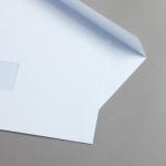 MAYSPIES Premium Couverts DIN C5 | mit Fenster | haftklebend