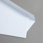 MAYSPIES Premium Couverts DIN lang haftklebend ohne Fenster | ohne Futter