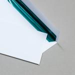 Couverts mit glänzend grünem Metallicfutter 100 Stück