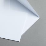 MAYSPIES Standard Couverts DIN B6 | ohne Fenster | nassklebend