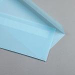Transparent Farbig Couverts DIN lang Pastellblau