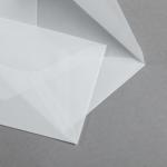 Transparent Premium Couverts DIN C6