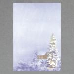 Winternacht DIN A4