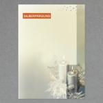 Silberkerzen DIN A4