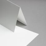 Opaline Karten DIN A5 hochdoppelt | 25 Stück