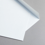 Revolution glatt Couverts DIN C5 Silbergrau | ohne Futter