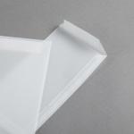 Transparent Premium Couverts DIN lang | ohne Fenster | gerade Klappe kurze Seite