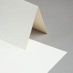 C-Cards DIN A5 hochdoppelt 100er Packung Elfenbein | Transparent, klar | Gold