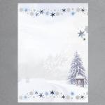 Winterwald 100 Blatt